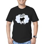 FIN-bulldogs-in-heaven.png Men's Fitted T-Shirt (d