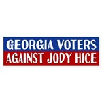 Georgia Voters Against Jody Hice Bumper Sticker