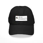 DEAR LORD SAYING ...BOSTON TERRIER LOOK Black Cap