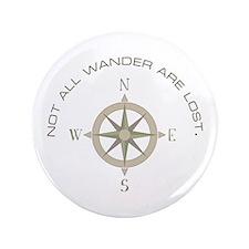 "Not All Wander 3.5"" Button (100 pack)"