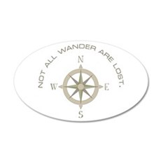 Not All Wander Wall Decal