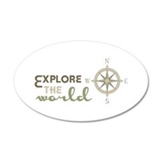 Explore The World Wall Decal