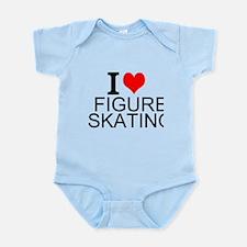 I Love Figure Skating Body Suit