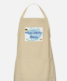 Celebration for Sonia (fish) BBQ Apron