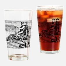Vintage Draisine, Handcar Drinking Glass