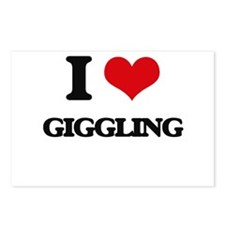 I Love Giggling Postcards (Package of 8)