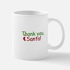 Thank you santa Mugs