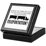 Teleportation Truck Driver Keepsake Box