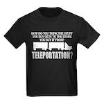 Teleportation Truck Driver Kids Dark T-Shirt