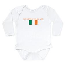Funny World travel Long Sleeve Infant Bodysuit