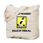 Biggest Balls Bowling Tote Bag