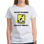 Biggest Balls Bowling Women's T-Shirt