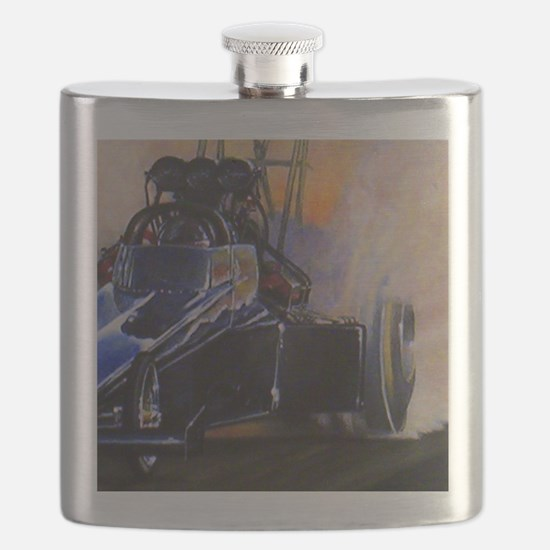Auto Racing Flask