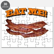 Cute Eating bacon Puzzle