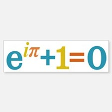 Eulers Identity Bumper Bumper Bumper Sticker