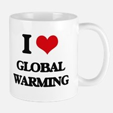 I Love Global Warming Mugs
