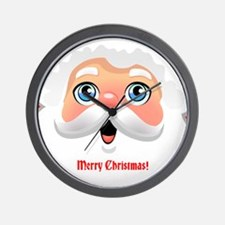 Customizable Santa Wall Clock
