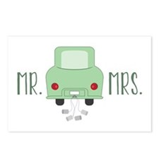 Mr & Mrs Postcards (Package of 8)