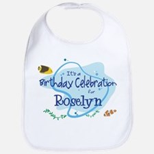 Celebration for Roselyn (fish Bib