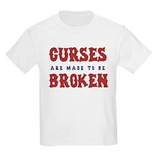 Curse Reverse (sox)  Kids T-Shirt