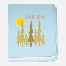 Into The Woods baby blanket