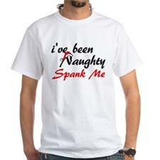 Naughty, Spank Me Shirt