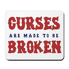 Curse Reverse (sox)  Mousepad