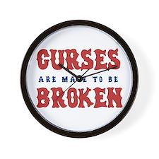 Curse Reverse (sox)  Wall Clock