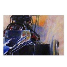 Auto Racing Postcards (Package of 8)