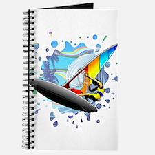 Windsurfer on Ocean Waves Journal