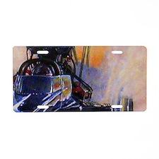 Auto Racing Aluminum License Plate