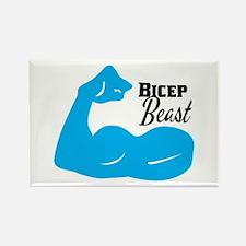 Bicep Beast Magnets