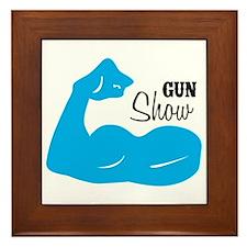 Gun Show Framed Tile