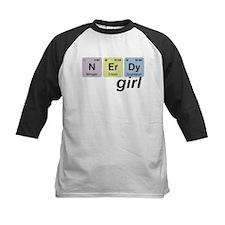 N Er Dy - Nerdy Girl Baseball Jersey