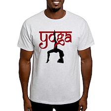 Yoga One-Legged Bridge Pose T-Shirt