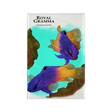 Royal Grammas Rectangle Magnet
