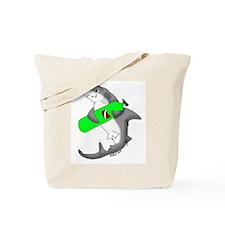 SCUBA shark Tote Bag