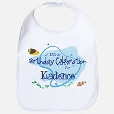Celebration for Kadence (fish Bib
