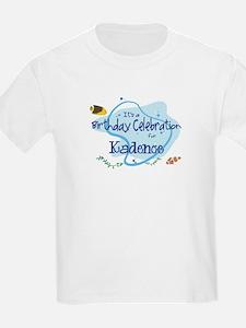 Celebration for Kadence (fish T-Shirt