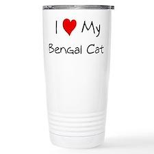 Cute Bengal designs Travel Mug