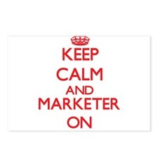 Keep Calm and Marketer ON Postcards (Package of 8)