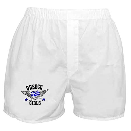 Greece has the best girls Boxer Shorts
