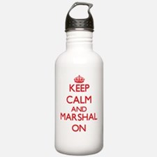 Keep Calm and Marshal Water Bottle