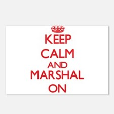 Keep Calm and Marshal ON Postcards (Package of 8)