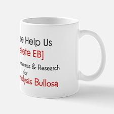Delete Eb Epidermolysis Bullosa Mugs