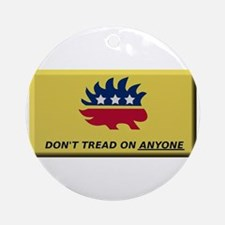 Don't Tread On Anyone Ornament (Round)