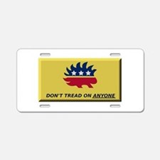 Don't Tread On Anyone Aluminum License Plate