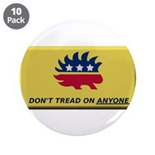 """Don't Tread On Anyone 3.5"""" Button (10 pack)"""