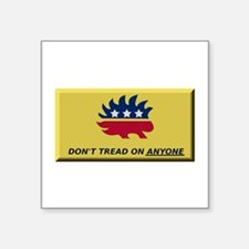Don't Tread On Anyone Sticker