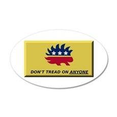 Don't Tread On Anyone Wall Decal